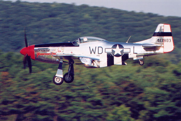 how to fly the p 51